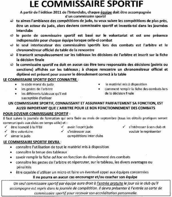 Une formation Commissaire Sportif F.F.B.J. pour la nouvelle saison Judo 2014-2015...