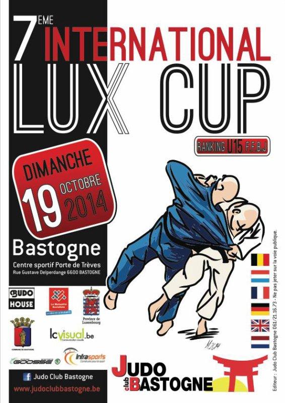 """Le Tournoi """"7 ème INTERNATIONAL LUX CUP 2014"""" du Judo Club Bastogne..."""