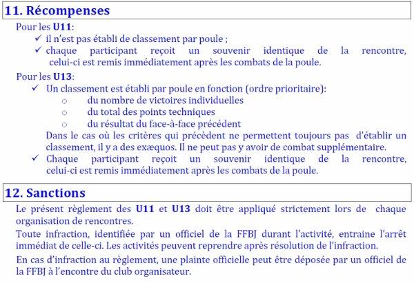Information de la Cellule Pédagogique pour les activités orientées des catégories U7, U9, U11, et U13