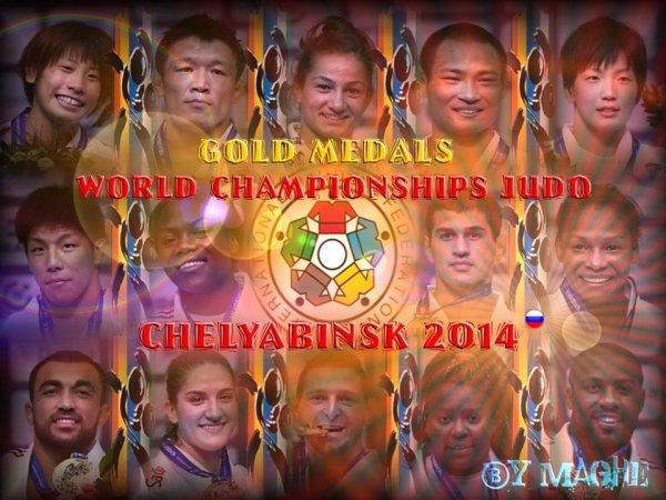 Petite distribution de bons points aux nouveaux Champions du Monde de Judo 2014...