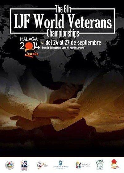 Les Championnats du Monde Vétérans 2014 en Espagne du 24 au 27 septembre à Malaga... Olé ! !