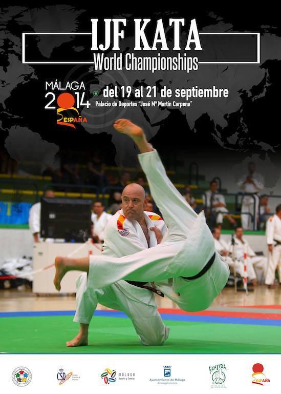 Les Championnats du Monde Kata 2014 en Espagne du 19 au 21 septembre à Malaga... Olé ! !
