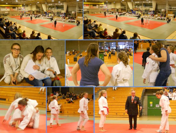 Le 32 ème Tournoi International 2014 du Judo Club Sakura Braine à Braine-l'Alleud...