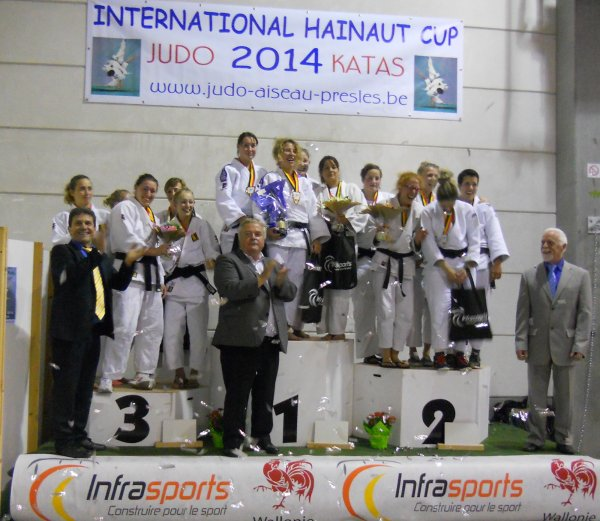 Le Tournoi International Hainaut Cup Judo Inter-équipes 2014 à Roselies...