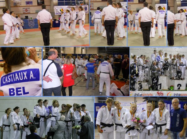 Le Tournoi International Hainaut Cup Judo Inter-équipes 2014 à Roselies... En images !