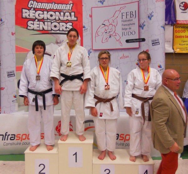 Le Championnat Régional 2014 (U21 +21) de la Fédération Francophone Belge de Judo à Basècles...