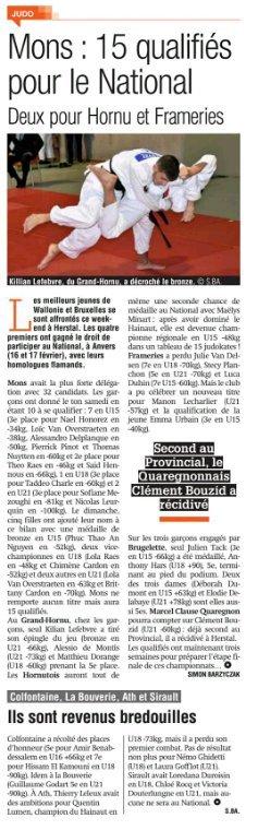 Championnat de Belgique dans 3 semaines