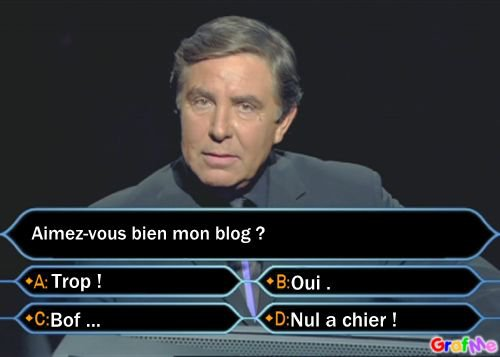 Question pour un ...! CHAMPIGNON !