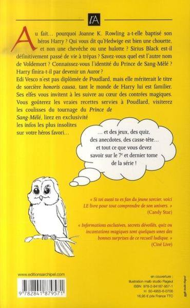 Livre : Le guide Magique du monde de Harry Potter; par Edi Vesco