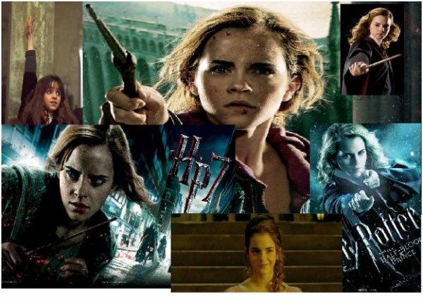 Création sur Hermione Granger, de moi ^^