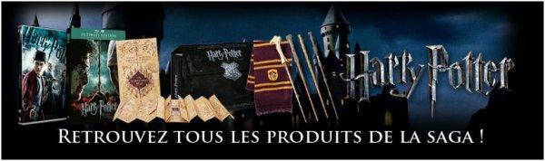 Produit dérivés Harry Potter sur le site officiel de Warner Bros