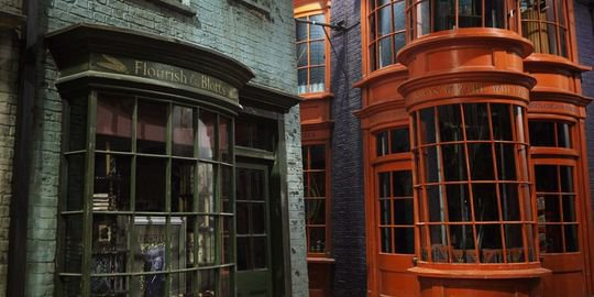 La magie des studios Harry Potter.
