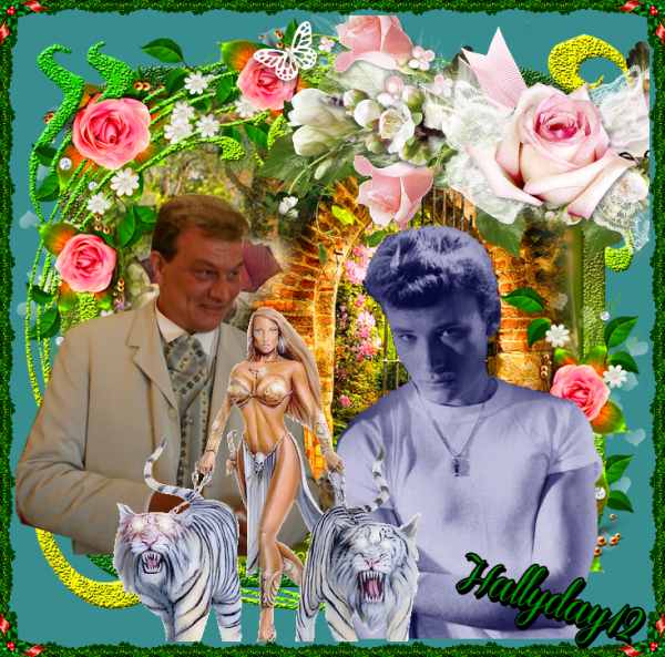 A MON AMI HALLYDAY12 BISOUS AMITIER MARIE
