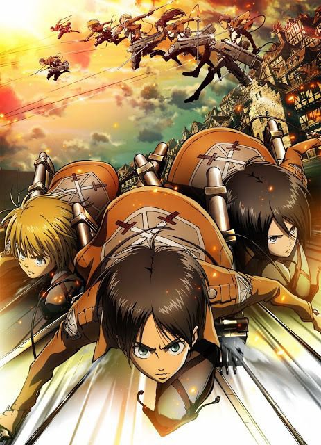 Attack on titans ;)