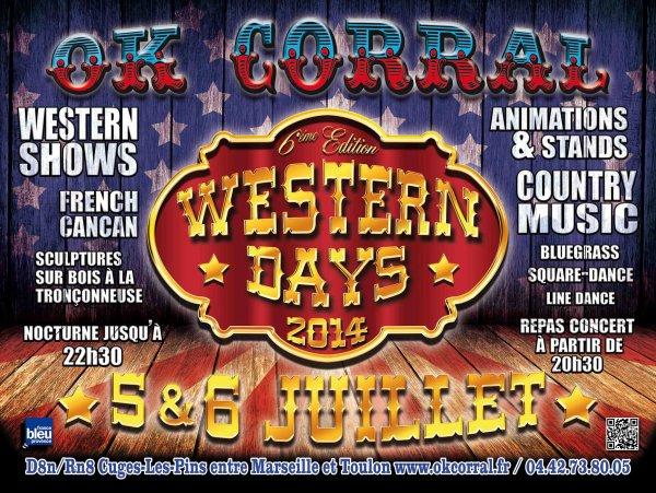 WESTERN DAYS FESTIVAL 2014 A OK CORRAL