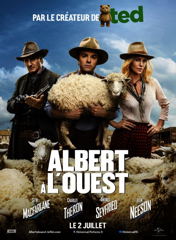 ALBERT A L OUEST EN CE MOMENT AU CINEMA