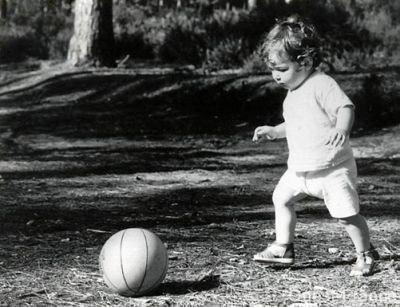 Un enfant de la balle