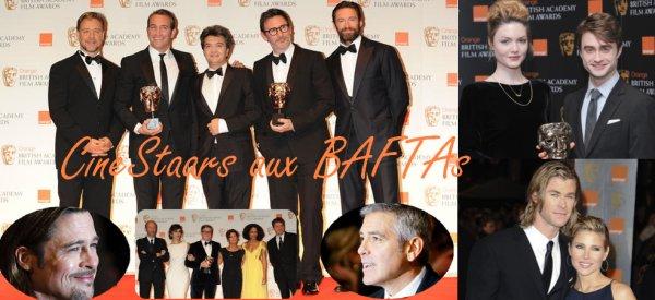 Nouvelle cérémonie pour nos stars, les BAFTAs