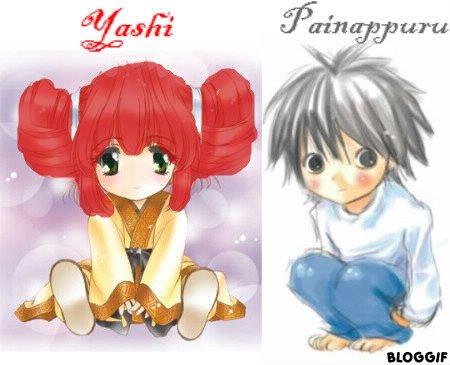 presentation de Yashi et Painappuru