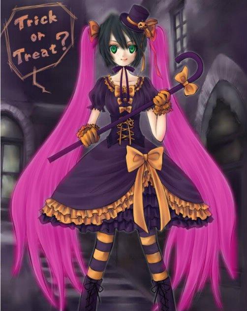 Happy Halloween a tous !!! ♥