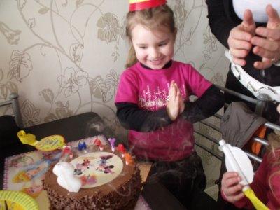 anniversaire de ma princess le 29/01 3 ANS