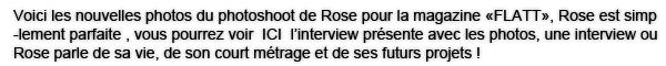 Ta source Francaise sur Rose Mcgowan depuis 2009 !