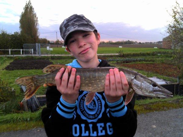 Première partie de pêche au carnassier avec mon fils