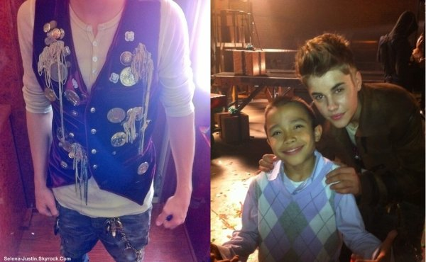 SANTA CLAUS  IS COMING TO TOWN                                       --                                                 Découvrez des anciennes et nouvelles photos de Justin, et d'autres photos sur le set du nouveau clip de Justin pour son album « Under The MistleToe » pour la chanson « Santa Claus is Coming to Town ».