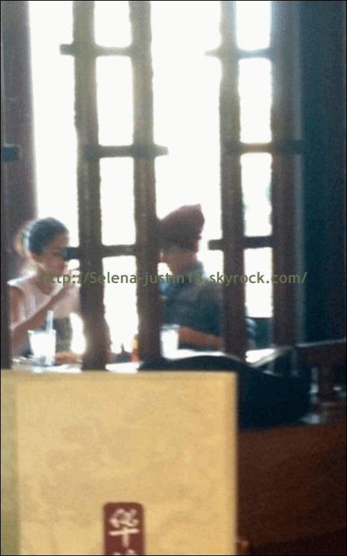 Mardi 10 janvier 2012                                Justin Bieber est parti déjeuner.