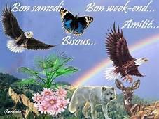 BONJOUR MES AMIS JE VOUS SOUHAITE UN TRÈS BON WEEK-END.....ET JE  VOUS DIT A LUNDI