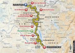 IMAGES DU TOUR DE FRANÇE ÉTAPE NANTUA A CHAMBÉRIE 181'5 KM DE DIMANCHE 9 JUILLET 2017