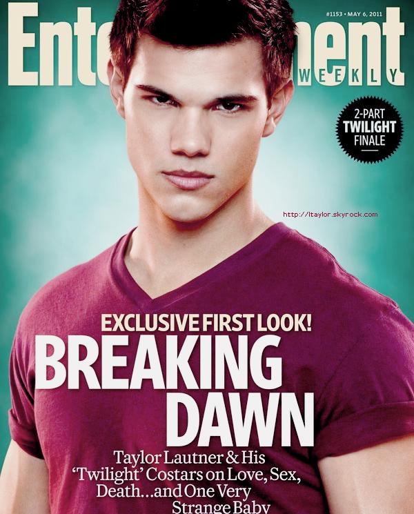 __ Un tout nouveau stills de Breaking Dawn vient d'apparaitre avec Jacob Black à l'honneur + Taylor alias Jacob faisant la couverture du Entertainment Eeekly du mois d'Avril Photo,