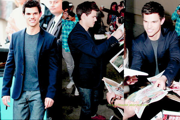 __24/05/11  Taylor arrivant au Jimmy Kimmel Live Photos,