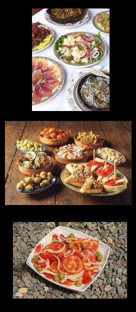 """Notre sélection """"repas"""" Espagnols. Nuestra selección de """"comida"""" Españoles."""