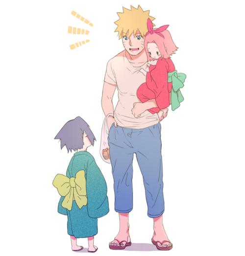 moi naruto et sasuke