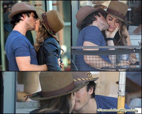 Ce 8 septembre le beau Ian et la belle Nikki ont été vus à West Hollywood .