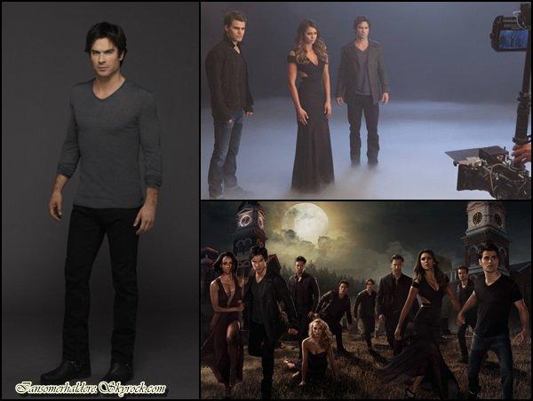 """Voici quelques photos de """"The Vampire Diaries"""" saison 6."""