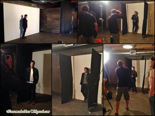 Le beau Ian a participé a une séance photo pour le magazine XOXO mag à L.A ce samedi 20 août.