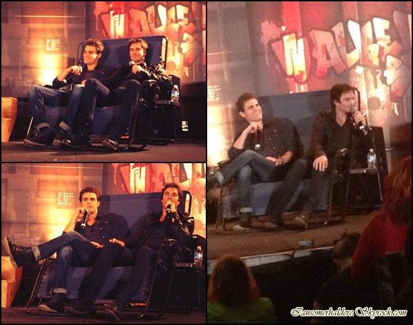 Le magnifique Ian et le beau Paul étaient à Atlanta ce 19 octobre pour une convention.