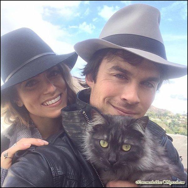Le beau Ian et la magnifique Nikki adoptent un chat