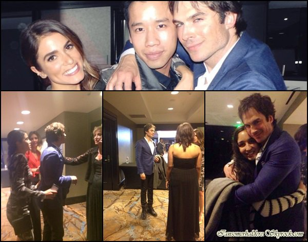 Ian et Nikki étaient au 2014 Unlikely Heroes Awards Dinner Gala ce 9 novembre.