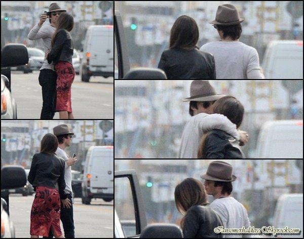 Le magnifique Ian et la belle Nikki ont été vu ensemble à Los Angeles ce 10 décembre