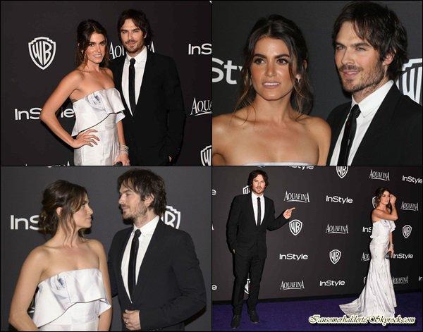 Ian et Nikki étaient au Golden Globes.