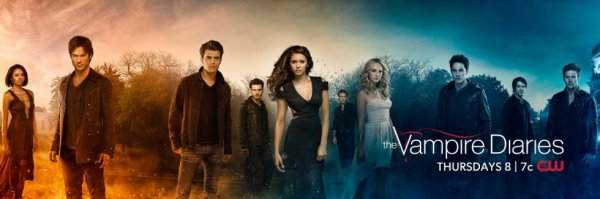 "Une nouvelle photo promo de ""Vampire diaries"""
