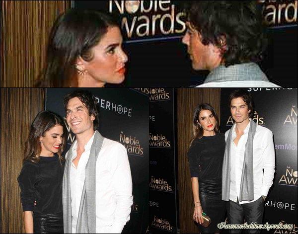Ian et Nikki ont assistés à la cérémonie du Prix Nobel 2015.