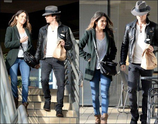Les deux amoureux ont été vu à Los Angeles.