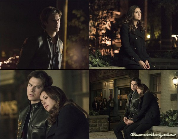 "Voici les nouvelles photos promo de l'épisode 18 "" I could never love like that""."