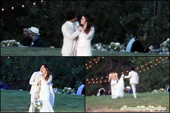 Ian et Nikki se sont marié ce  26 avril à Santa Monica.