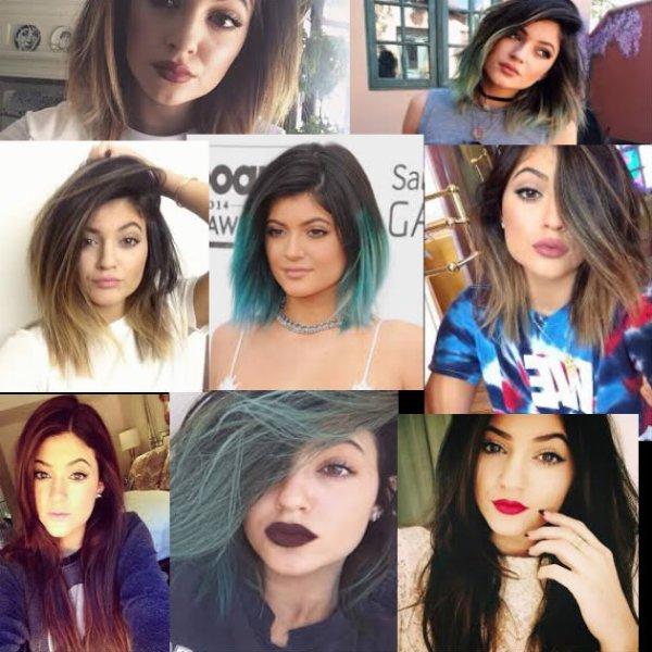 Hair Look n°1 ~ Kylie Jenner