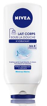 [J'ai testé 2]~Lait corps sous la douche Nivea Hydratant